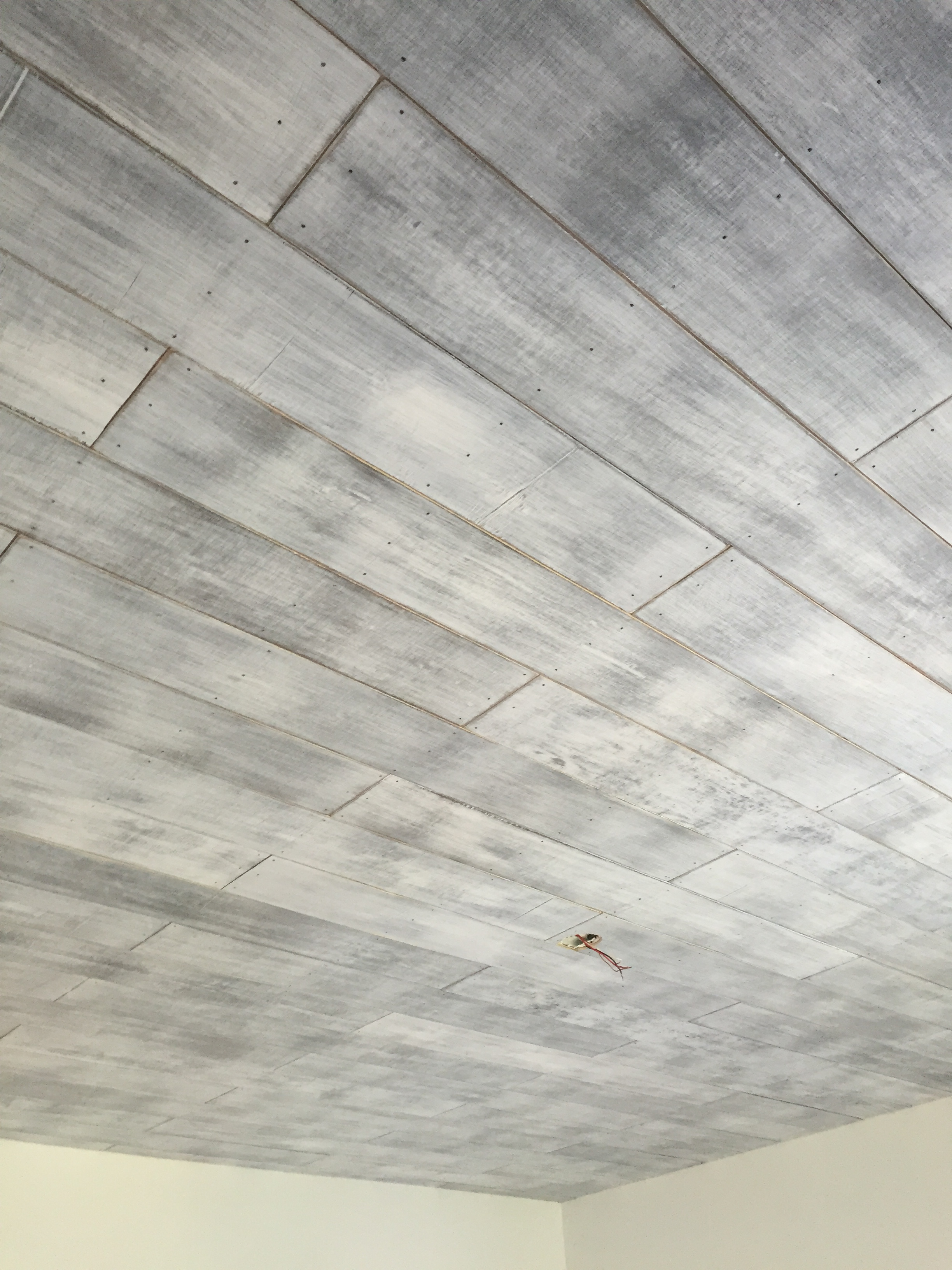 How To Shiplap A Ceiling