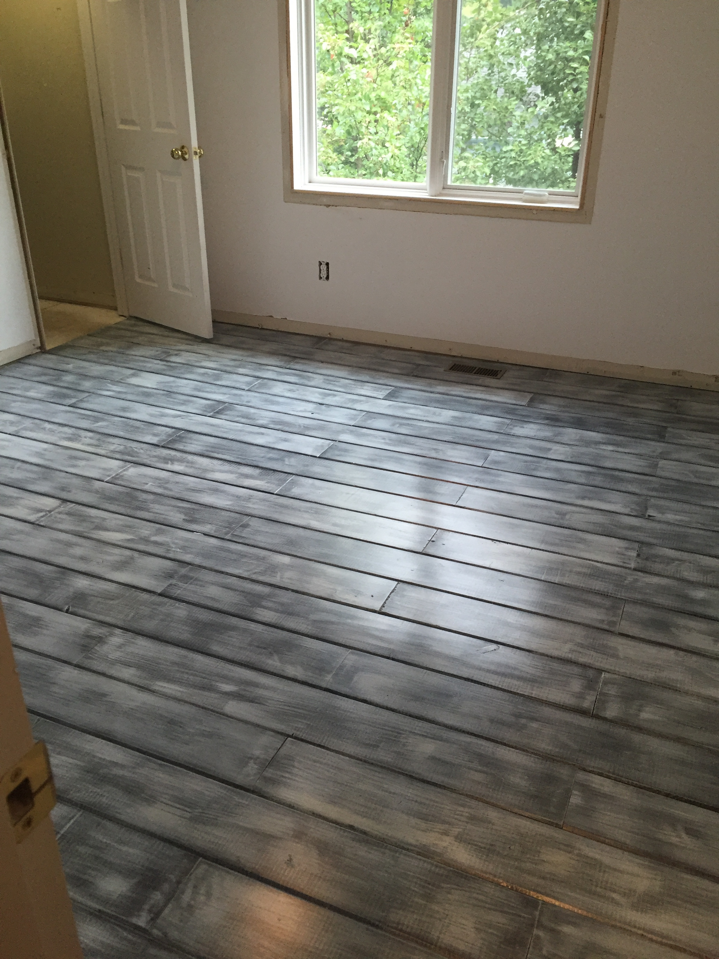 car siding wood floor