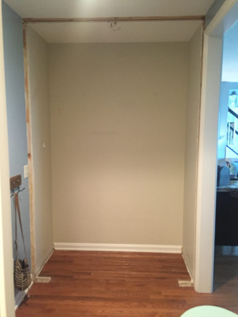 mudroom small space