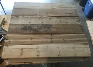 Pallet coffee table 4