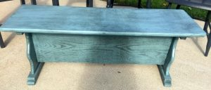 Antique Waxed Bench
