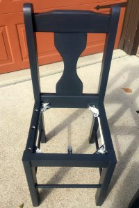 Gray Painted Chair 2