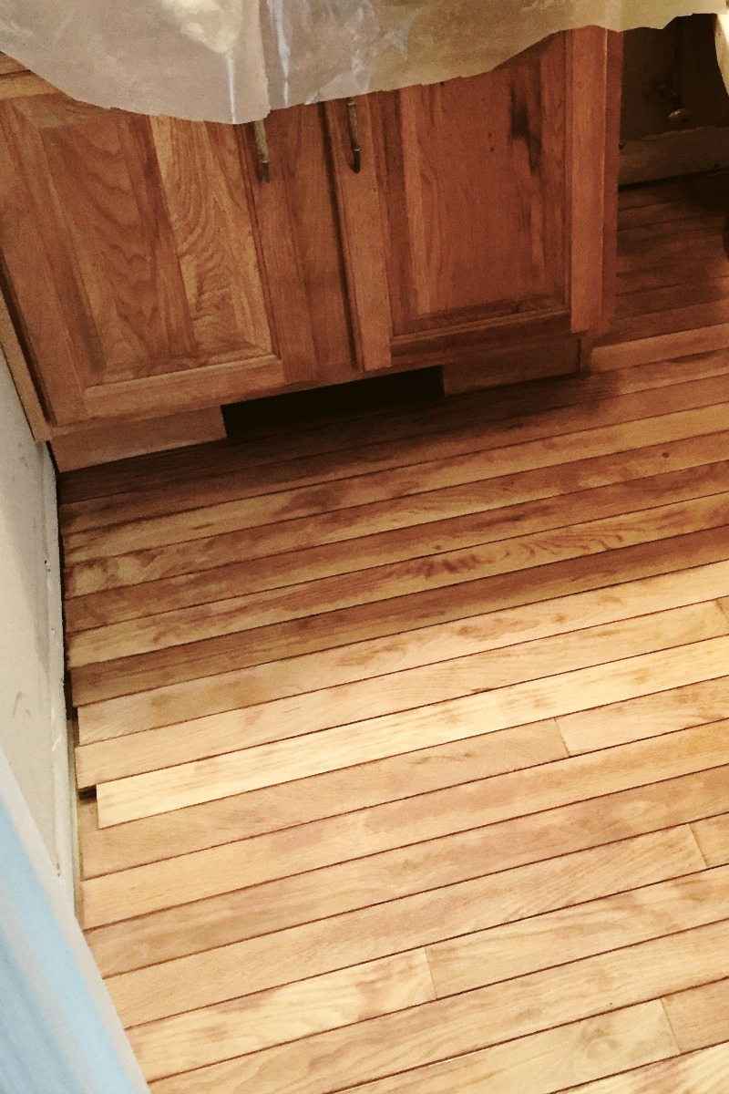 Restaining Hardwood Floors With Gel Stain Requires Minimal