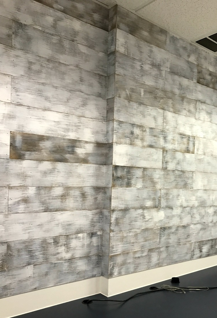 wall treatments: modern-industrial/ repurposelifeblog