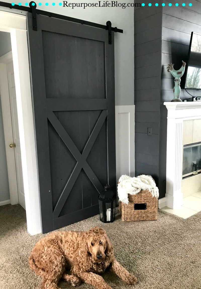 How To Make Your Own Sliding Barn Door Repurpose Life