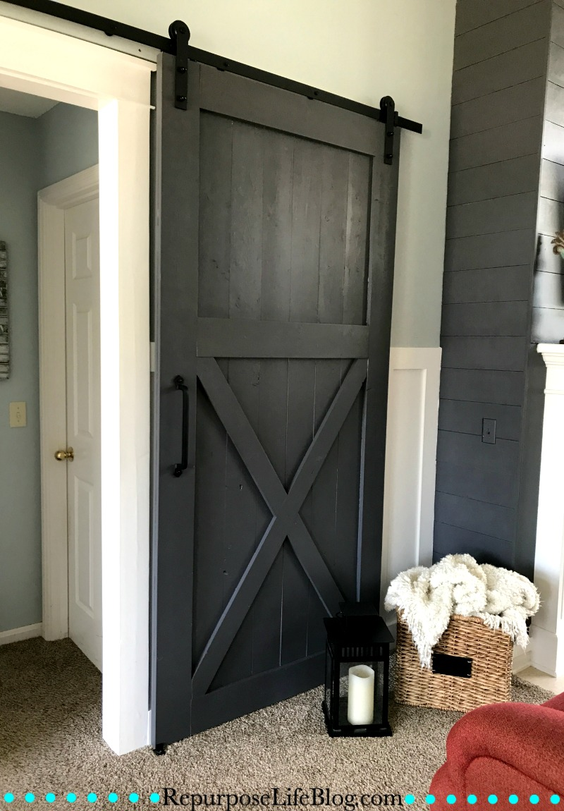 How to make your own sliding barn door repurpose life for Barn door pictures
