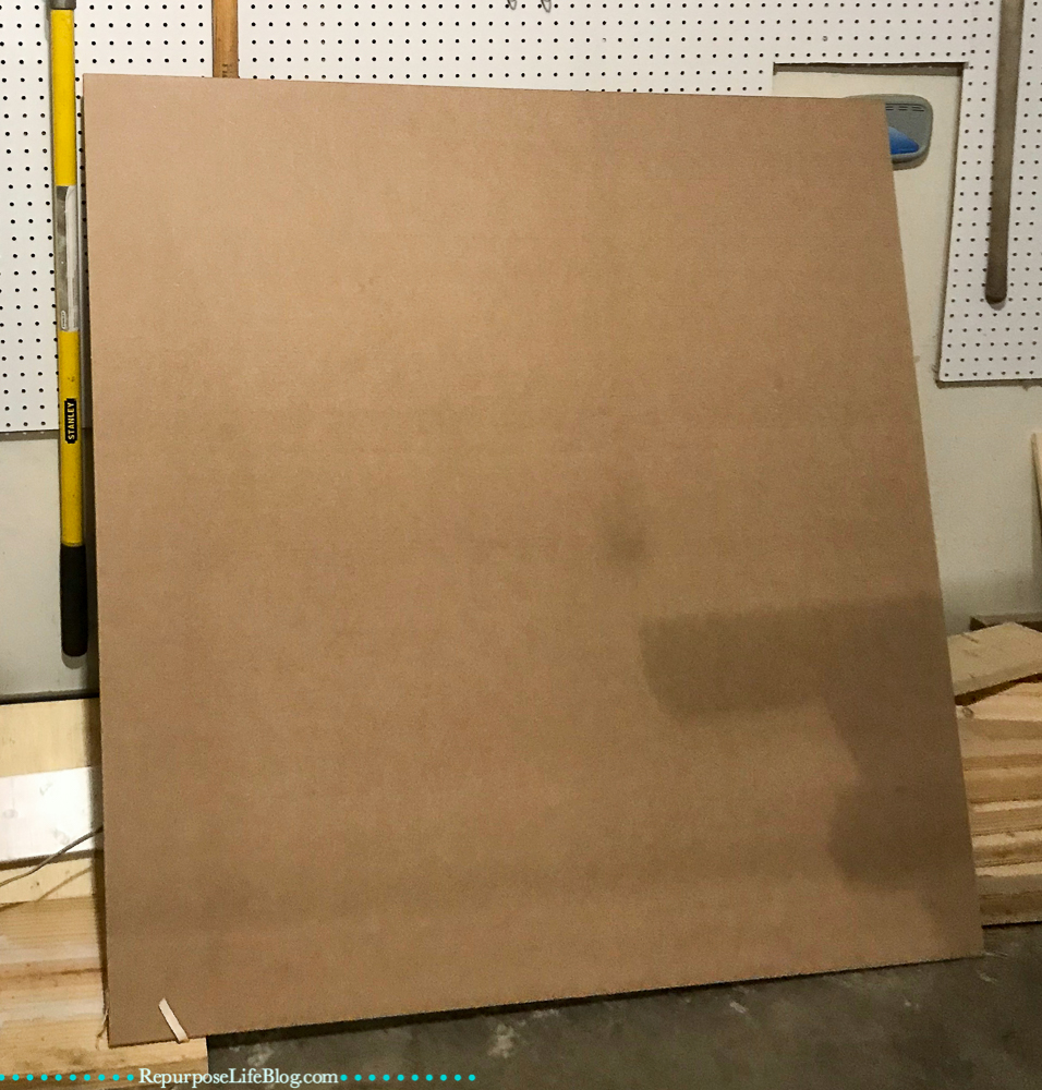 sheet of mdf board