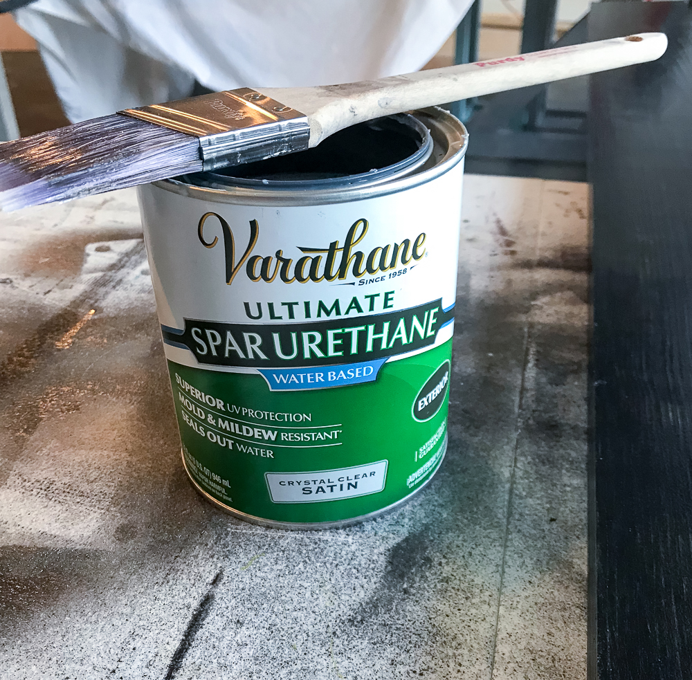 can of polyurethane