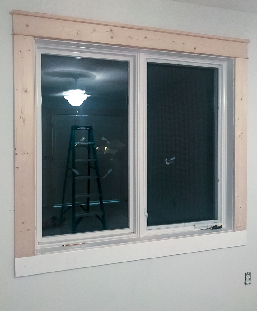 window with trim