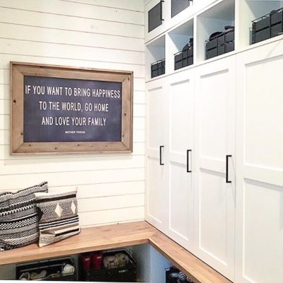 Mudroom Makeover Project-One Room Challenge Week 2