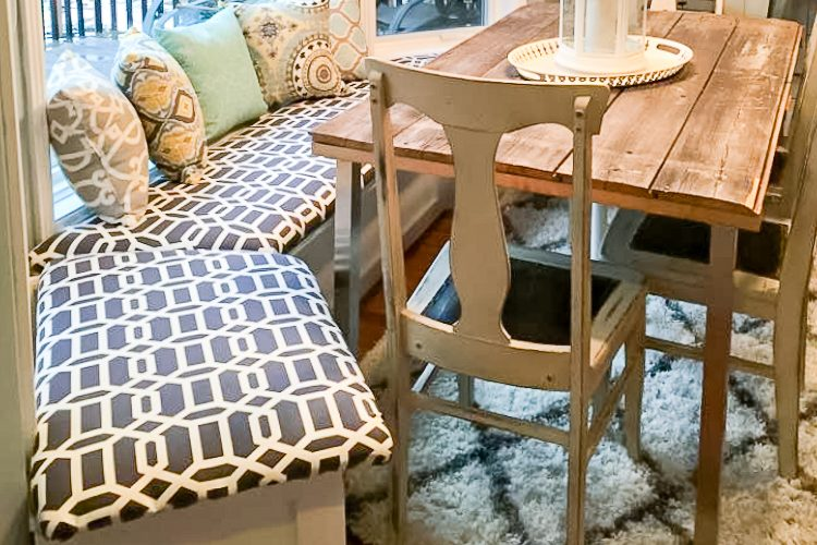 Easy How to Build a Bench Seat with Cubbies