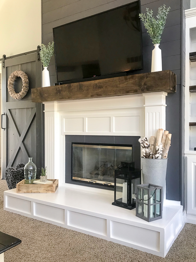 How To Build A Raised Fireplace Hearth Repurpose Life