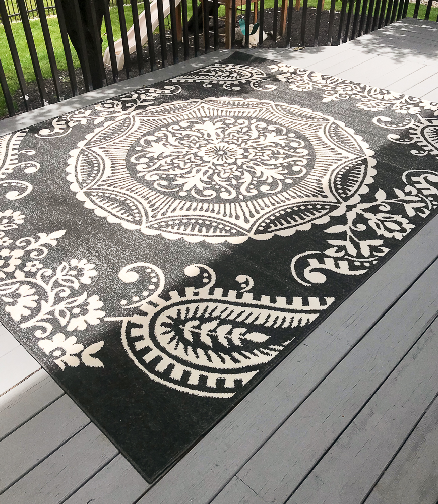 black Opalhouse rug from Target