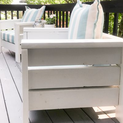 Modern Outdoor Chairs-Easy to Build and Affordable
