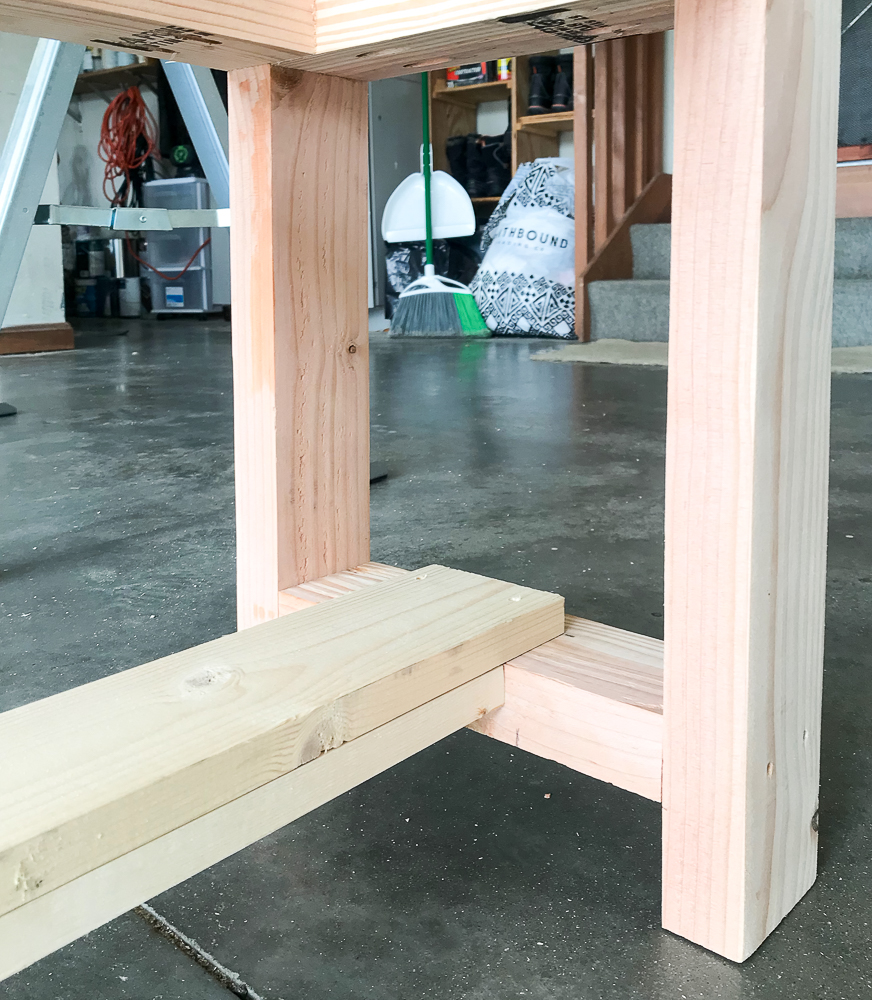 bench frame with long expander