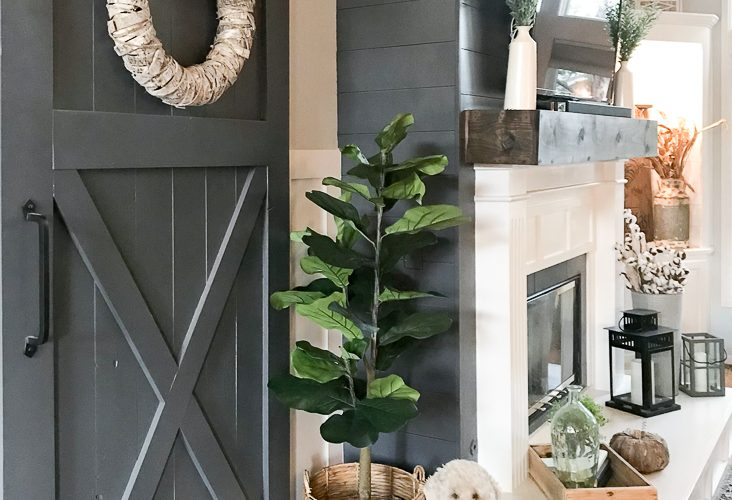 Three Easy Steps to a Fixer-Upper Worthy Fireplace