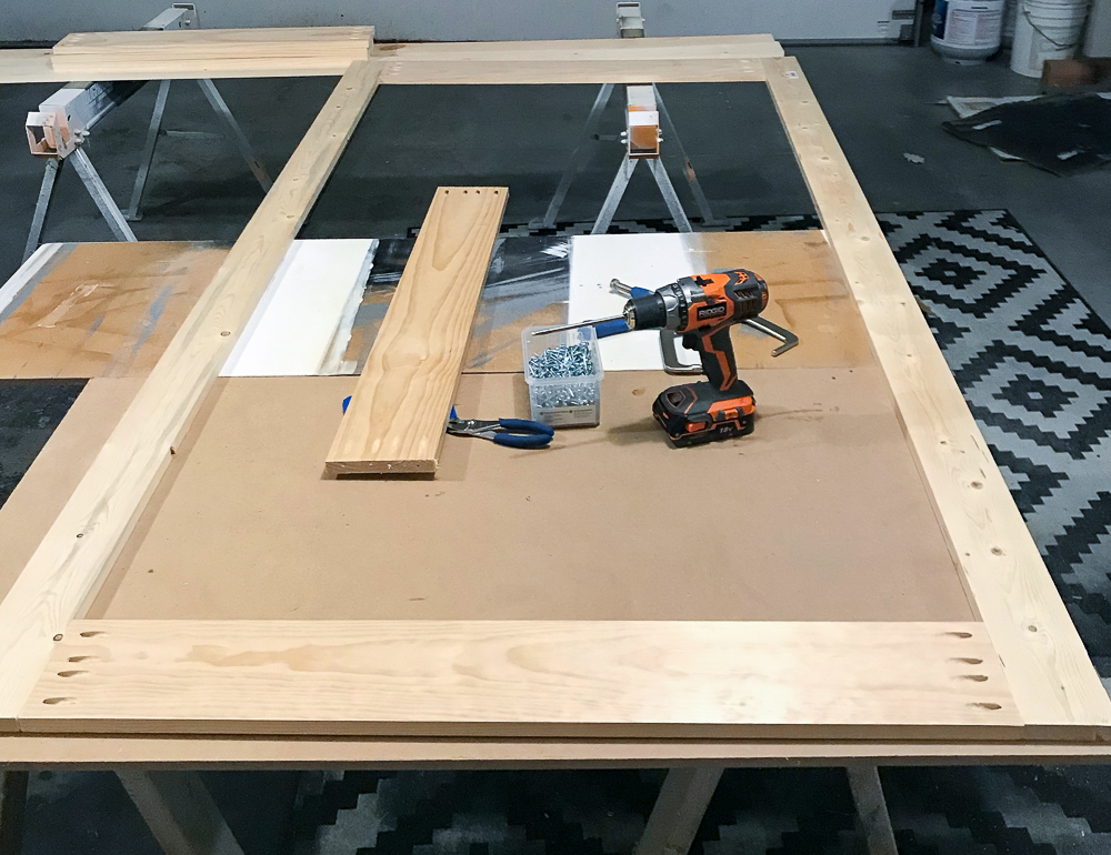 trim and tools for sliding barn door