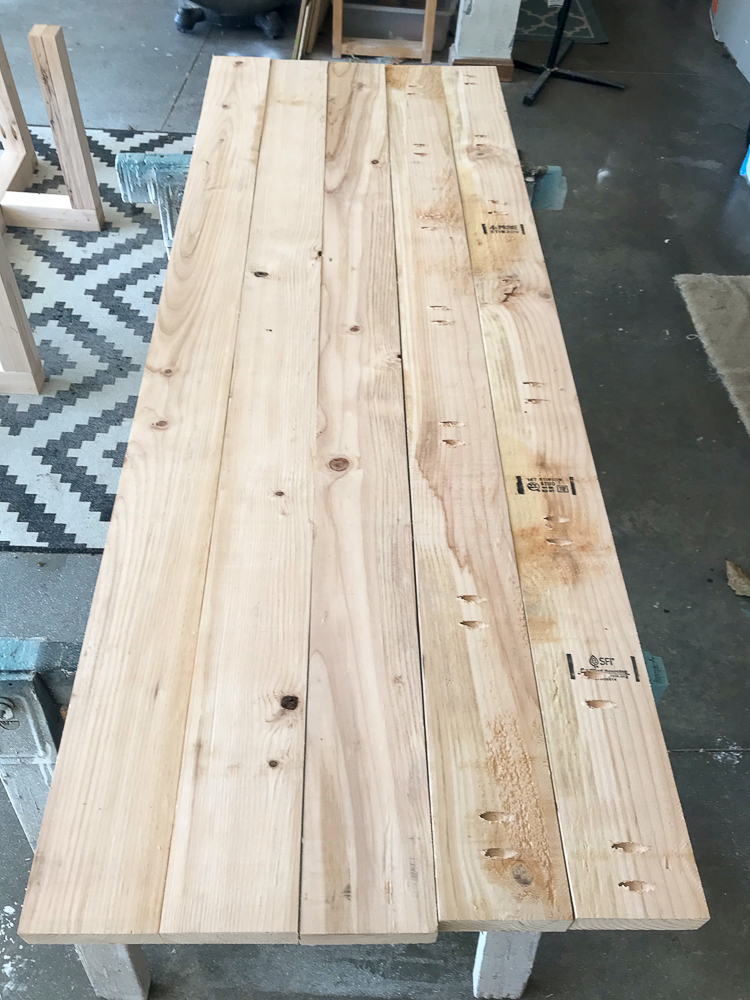 table top for farmhouse table