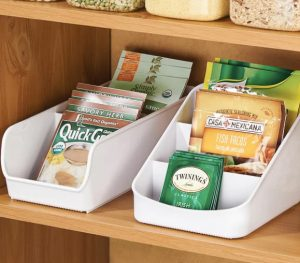space-saving storage compartments for spice packets