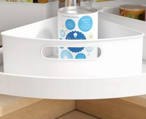 plastic container for space-saving storage solutions