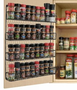 spice rack for pantry door for space-saving post