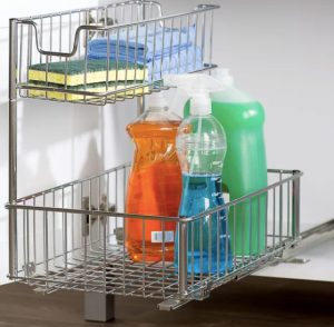pull out shelf for under kitchen sink