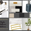 MOOD BOARD MASTER BATHROOM