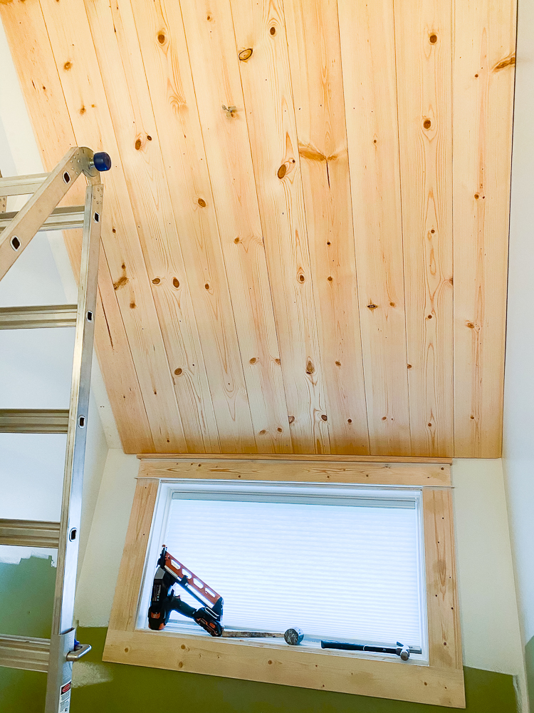 ceiling with carsiding