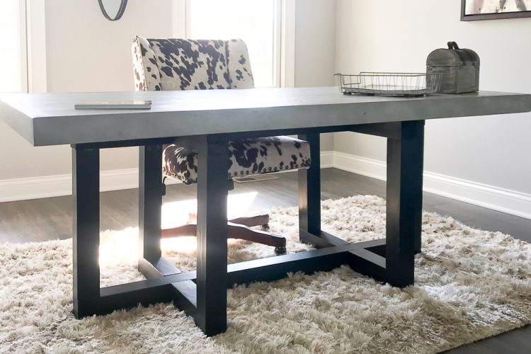 How to Build the Restoration Hardware Heston Desk