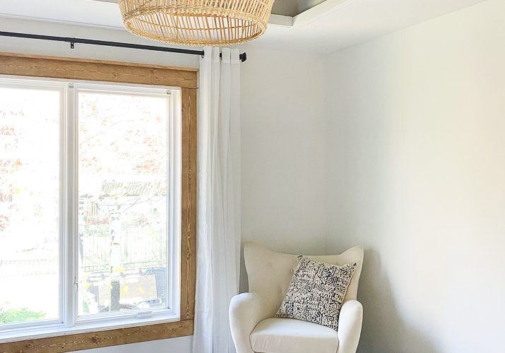 Easy How to Build and Attach Ceiling Beams