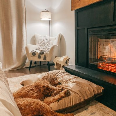 Easy How to DIY an Electric Fireplace Surround