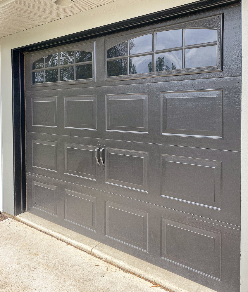 carriage doors with hardware