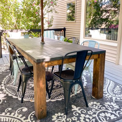 Revealing our Outdoor Summer Hangout Living Space